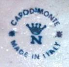 capodimonte factory marks