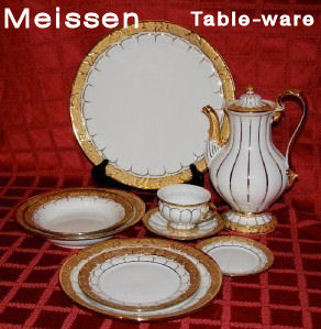 Meissen Plates and Table-ware Service