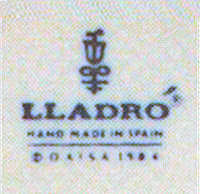 1984 Lladro Porcelain Mark and Stamp