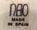 1970's Nao factory mark and back-stamp
