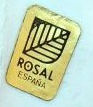 Rosal porcelain stick-on tag