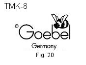 Goebel Hummel Trademarks TMK8 factory mark