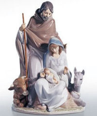 Lladro Nativity figurine