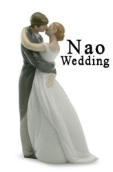 Nao by Lladro Bride and Groom Wedding figurine