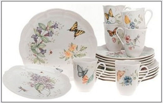 Lenox China Butterfly Meadow Pattern Dinnerware  sc 1 st  Appletreedeals.com & Lenox Butterfly Meadow Dinnerware - Best Selection - Cheapest Prices
