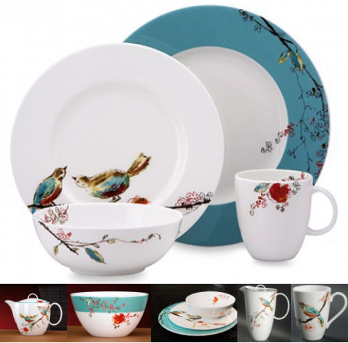 Lenox china chirp pattern dinnerware pattern  sc 1 st  Appletreedeals.com & Lenox Chirp Dinnerware - Best Selection and Cheapest Prices Online