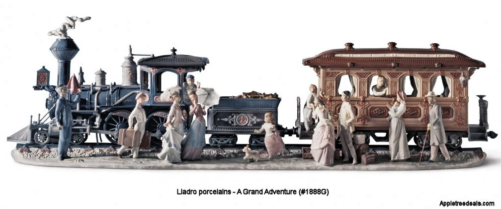 A Grand Adventure #1888G Lladro Figurines