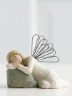 Willow Tree  Dreaming Angel figurine