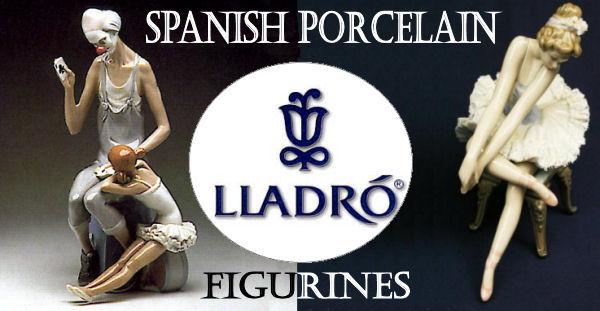 Lladro Spanish Porcelain Figurines Graphic
