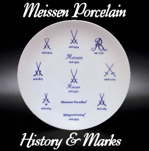 Meissen Porcelain Marks Plate