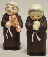 Goebel Friar Tuck Figurines