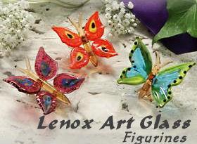 Lenox Art Glass Figurines