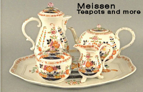 Meissen Teapot and Service