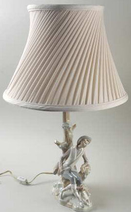 Lladro Spanish Porcelain Lamp