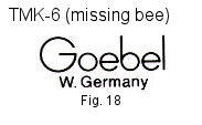 Goebel Hummel Trademarks factory marks TMK6