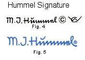 Goebel Hummel Trademarks M.I. Hummel signature