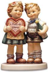 MI Hummel Boy Girl Figurine Figurine
