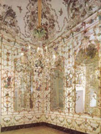 Capodimonte Porcelain Room at the Palace of Portici