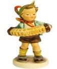 Goebel Hummel Figurine Accordian Boy #185