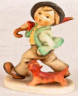 Goebel Hummel Strolling Along boy figurine #5