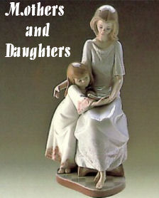 Lladro Mother and Daughter Figurines