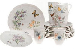 Lenox China Butterfly Meadow Dinnerware pattern