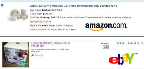 Lenox china dinnerware butterfly meadow prices