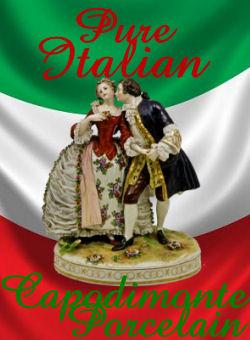 Capodimonte Italian porcelain Figurine