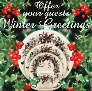 Lenox China Winter Greetings Dinnerware