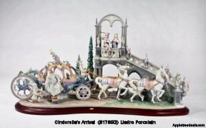 Cinderella's Arrival (1785G) Lladro Figurines