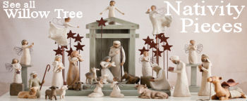 Willow Tree Nativity Figurine collage