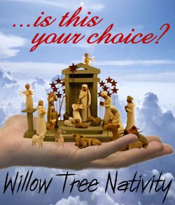 Willow Tree Nativity Scene