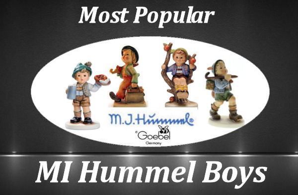 Hummel Boy Figurines graphic