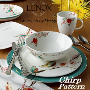 Lenox China Chirp Pattern Dinnerware Pattern