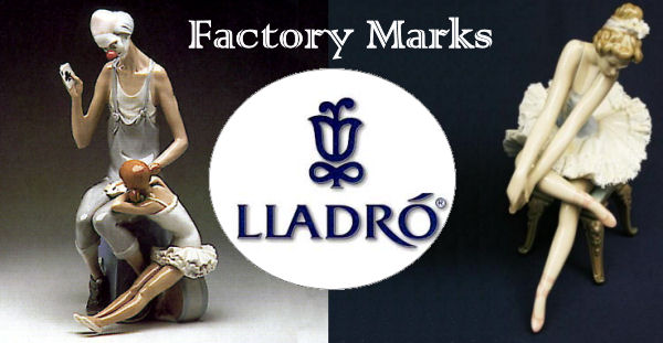 Lladro Figurines Factory Marks