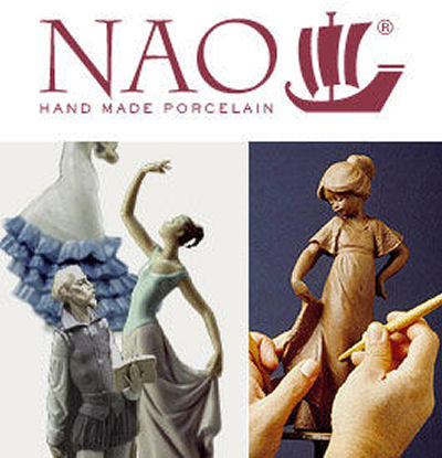 Nao by lladro Figurine logo