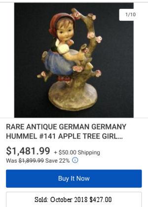 Hummel Apple Tree Girl #141